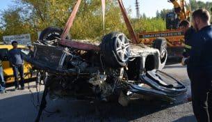 Malatya'da otomobil çaya düştü: 1 ölü