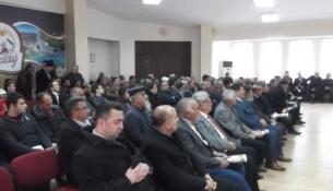 Akçadağ'da Çiftçilere Bilgilendirme Toplantısı Yapıldı