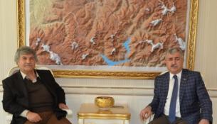 Başkan Polat Dizi Yapımcısı ve Yönetmen Mesut Uçakan'ı Ağırladı