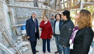 Başkan Polat Kebir Cami'si Restorasyon Çalışmalarını İnceledi