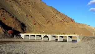 Pötürge'de Şiro Çayı Köprüsü Tamamlandı