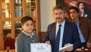 Teog'da Bahçeşehir Ortaokulu Birinci Oldu