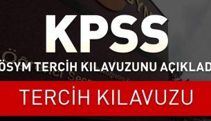 2016 ÖSYM KPSS tercih kılavuzu | Nitelik kodlarına dikkat