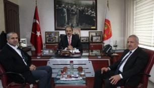 Ak Partili Şahin'den Mesob Başkanı Keskin'e Ziyaret