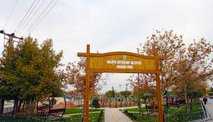 Akçadağ Parkı Hizmete Girdi