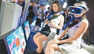 Japonlardan sanal gerçeklik için özel ekran