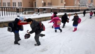 Kar yağışı nedeniyle yarın, bu il ve ilçelerde okullar tatil!