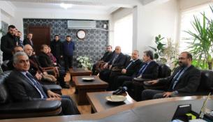 Milletvekili Özhan ve Yaşar İl Emniyet Müdürünü Ziyaret Etti