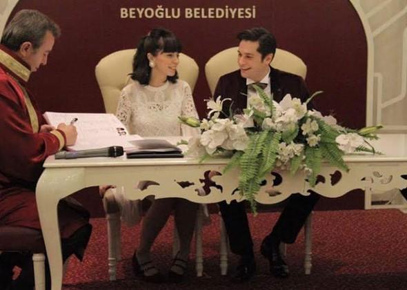 Cenk Gürpınar evlendi
