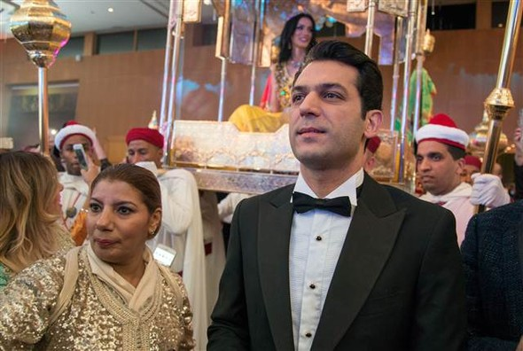 Murat Yıldırım ve İman El-Bani Fasta ikinci düğünlerini yaptı