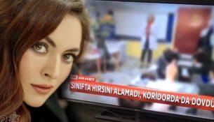Ezgi Mola, öğrencisine şiddet uygulayan öğretmene sert tepki gösterdi