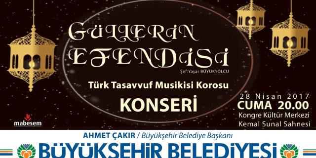 GÜLLERİN EFENDİSİ KONSERİNE DAVET