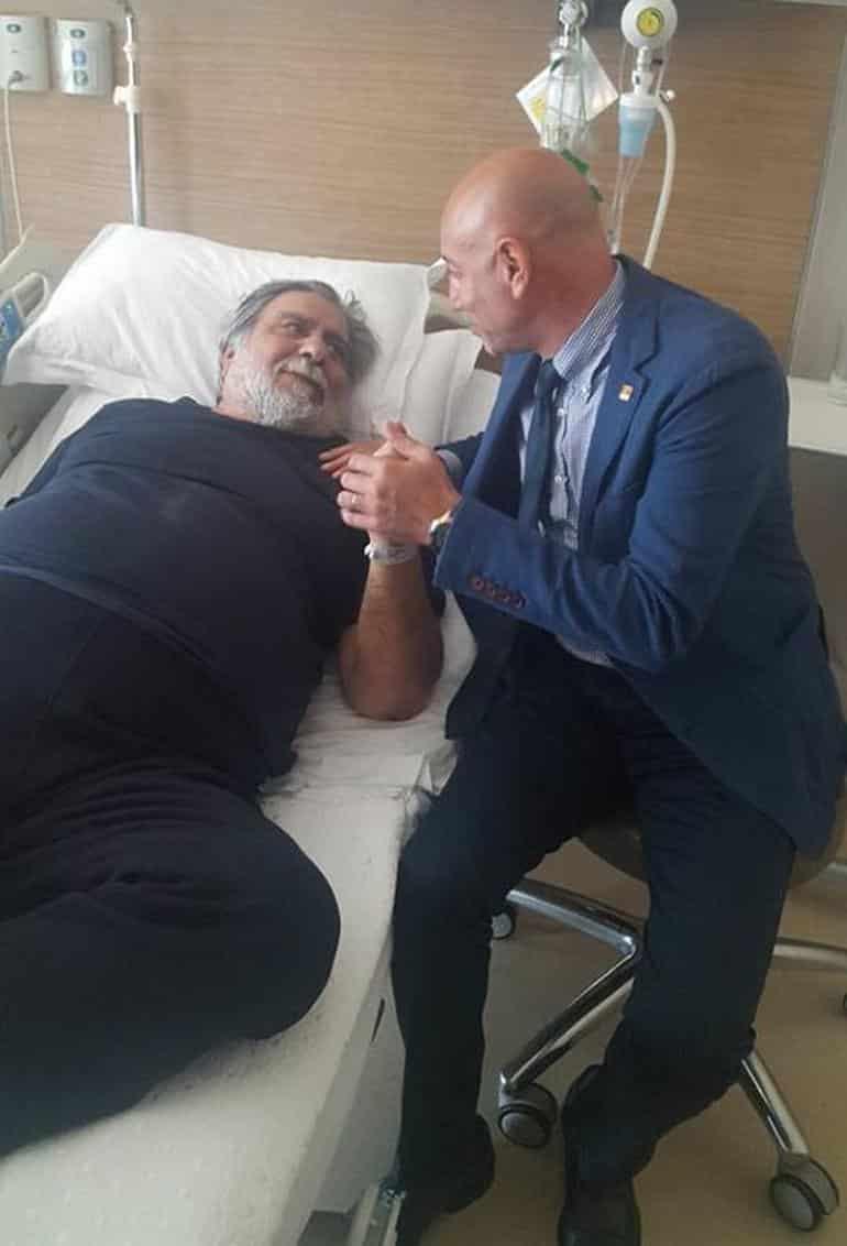 Arif Sağ neden hastaneye kaldırıldı