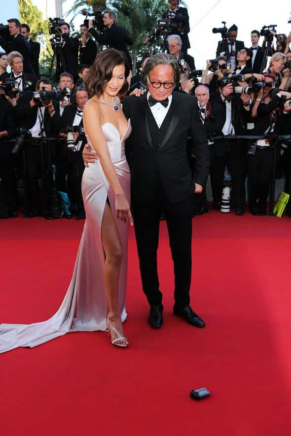 Cannes Film Festivalinin kırmızı halısında şıklık yarışı