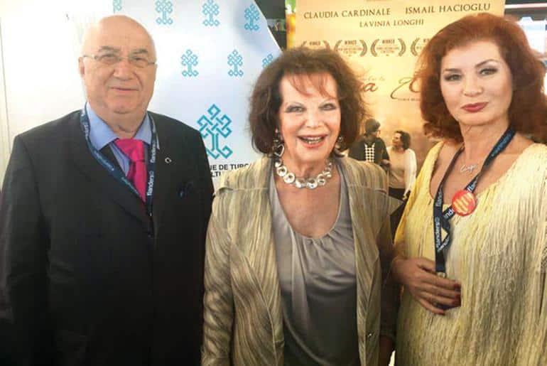 Erkan Özerman ile Claudia Cardinale 49 yıl sonra buluştu