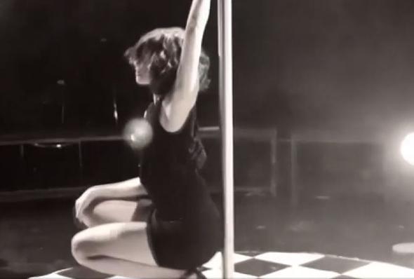 Nesrin Cevadzadeden olay yaratan dans