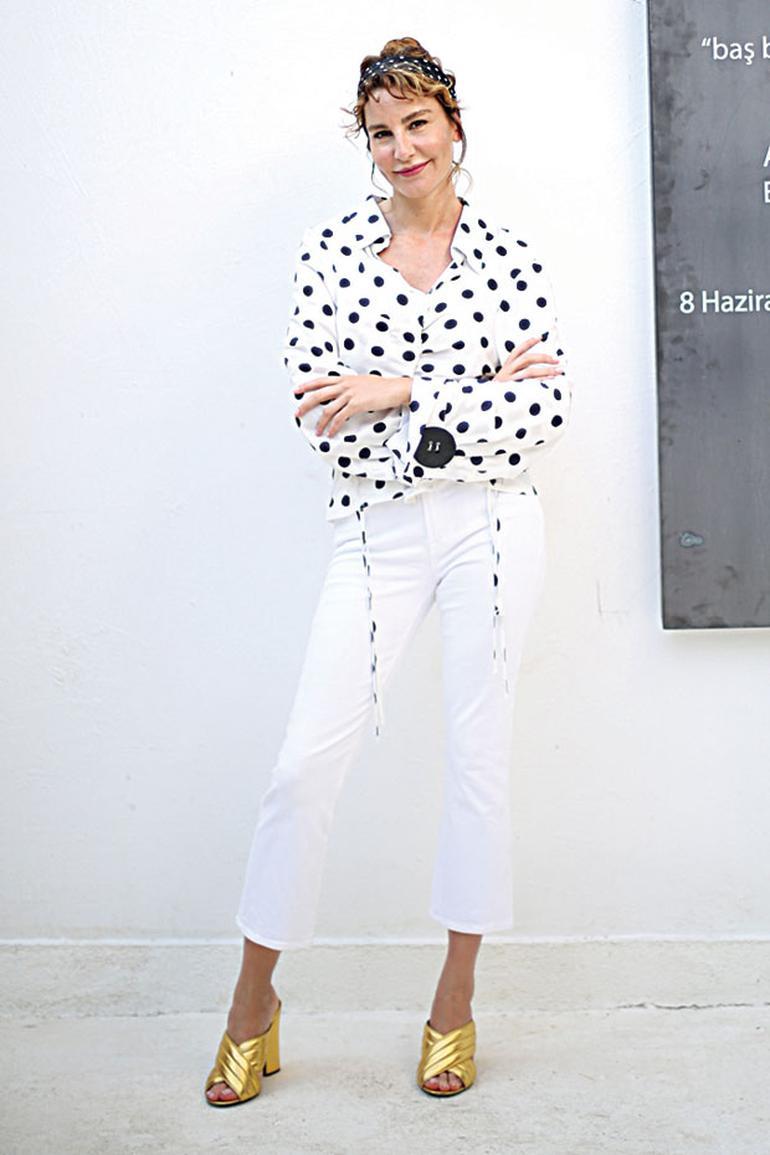 Desen böyle giyilir (ECE SÜKAN)